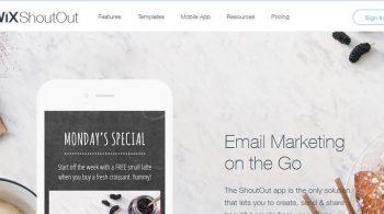 การตลาดออนไลน์ wix email markrting